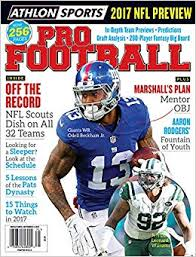 Athlon Sports 2017 Pro Football New York Giants New York