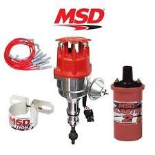 msd ignition kit ford msd 9906 ignition kit ready to run distributor wires coil ford 351c 400