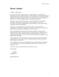 Cover Letter Web Developer Cover Letter Examples Cover Letter