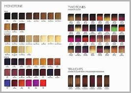 Redken Color Fusion Chart 2017