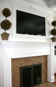 Framed Tv Above Fireplace 57 Best Tv Above Fireplace Ideas Images On Pinterest Fireplace