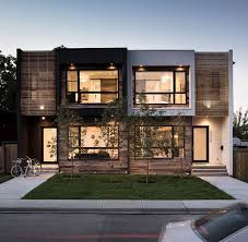 modern urban residential architecture. Interesting Architecture Modern Urban Infill In Calgary Showcasing Reclaimed Materials Throughout Urban Residential Architecture C