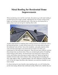 Energy Efficient Roof Design Citrus Heights Roofer Pros By Roofingcitrusheights Issuu