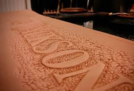 carving letters michael dale