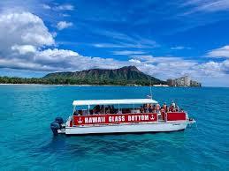 Oahu glass bottom boats