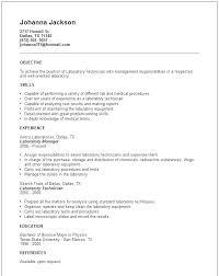 Sample Resume For Medical Technologist Sample Resume For A Medical