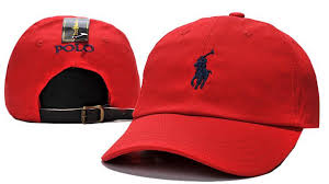 men s women s polo ralph lauren small pony logo leather strap back adjustable baseball hat red navy affordable high end usa official