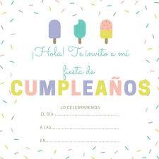 Invitaciones Fiesta Invitaciones De Cumpleaños Gratis Invitaciones De Cumpleaños