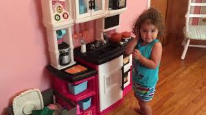 Pink Step 2 Kitchen Great Gourmet Kitchen Pink Review Youtube