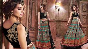 Party Dresses For Womens Latest Indo Western Gown Long Designer