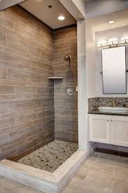 Small Picture 20 Amazing Bathrooms With Wood Like Tile Modern shower Woods