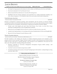 Example Of Chef Resume sample chef resume dzeotk 51