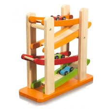 wooden educational toy ramp racer tracks toddler preschool