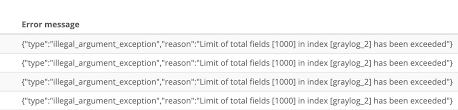 What to Do When You Have 1000+ Fields? | Graylog
