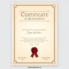 Plantilla Para Diplomas Y Certificados Fotos Y Vectores Gratis