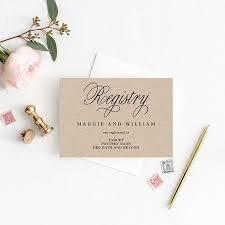 Registry Cards Editable Template Printable Pdf Elegant