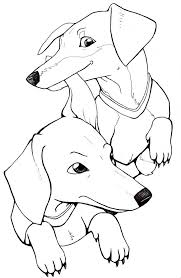 Dachshund Silhouette Printable At Getdrawingscom Free For