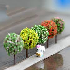 fairy garden terrarium. Delighful Garden 5PCS Mini Garden Decorations Resin Tree Fairy Terrarium Figurines Miniature  Miniatures Trees For U
