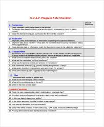 Subjective Objective Assessment Planning Note Magnificent 44 Progress Note Examples Samples PDF DOC