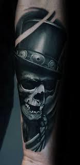 60 Badass Lebka Tetování Pro Muže Myšlenky Mužského Designu