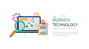 Business Technology Powerpoint Template Pslides