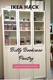 pantry kitchen using billy bookcase cabinet home decor photos book case ikea glass door singapore d