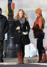 coat blake lively gossip girl black jacket celebrity winter outfits fall outfits serena van der woodsen wheretoget