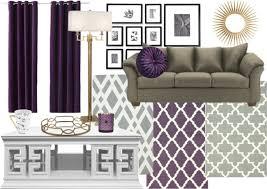 living room color scheme sage purple