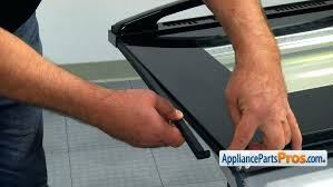 whirlpool oven door replacement superb replacement glass