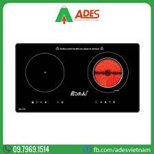 Bếp Từ Kết Hợp Hồng Ngoại Romal RIE-113V | Điện máy ADES
