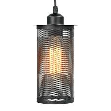 cage ceiling light shade vintage industrial style metal net hanging pendant lamp lights for bedroom ind cage ceiling light shade