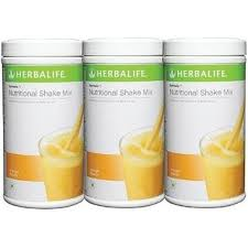 herbalife formula 1 nutritional shake mix 0 5 kg mango pack of 3