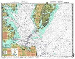 Chesapeake Bay Maps Charts Amazon Com East View Map Link Noaa Chart 12221 Chesapeake