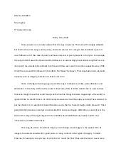 poetry essay draft