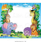zoo border paper