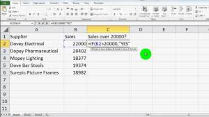 Microsoft Excel If Statement Tutorial And Guide Excel 2003 2007