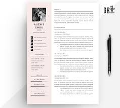 Alexis Chou Resume Template