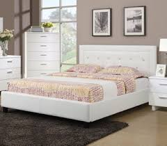 Poundex F9247 White Full / Queen Bedroom Set