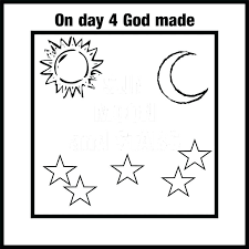 Free Printable Creation Coloring Pages Predragterziccom