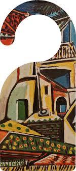 Mediterranean Landscape By Pablo Picasso Door Hanger Youcustomizeit