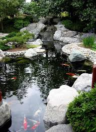 Small Picture Garden Pond Waterfall Designs Zampco