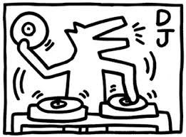 Keith Haring Mannetjes Kleurplaat Coloring Pages Keith Haring