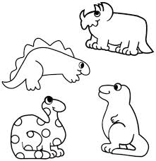 Small Picture Coloring Pages Dinosaur Coloring Pages Realistic Dinosaur