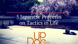 5 Japanese Proverbs On Tactics That Will Enlighten Your Day Updoc