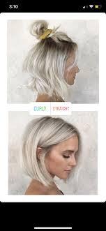 Blonde Bob Super Cute Both Ways Hair And Beauty Vlasy účesy A
