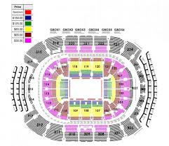 Acc Centre Seating Chart Air Canada Center Seating Map