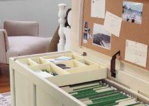 giving your home office a smart and sensible makeover is easier than you thing with few delightful diy ideas can do so without splurging diy storage ideas i15 office