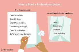 Dear Whomever It May Concern Cover Letter How To Use The Salutation To Whom It May Concern