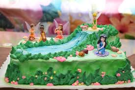 Amazing And Wonderful Fairy Birthday Cake And Cupcakes For A