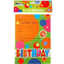 B Day Invitation Cards Birthday Invitation Cards Kids Party Decoration Invites Boys
